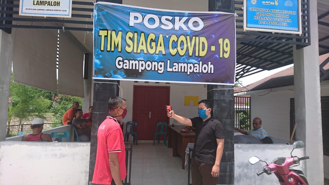 Cegah Virus Corona Gampong Lampaloh Membentuk Relawan Tim Siaga Covid19 Gampong Lampaloh